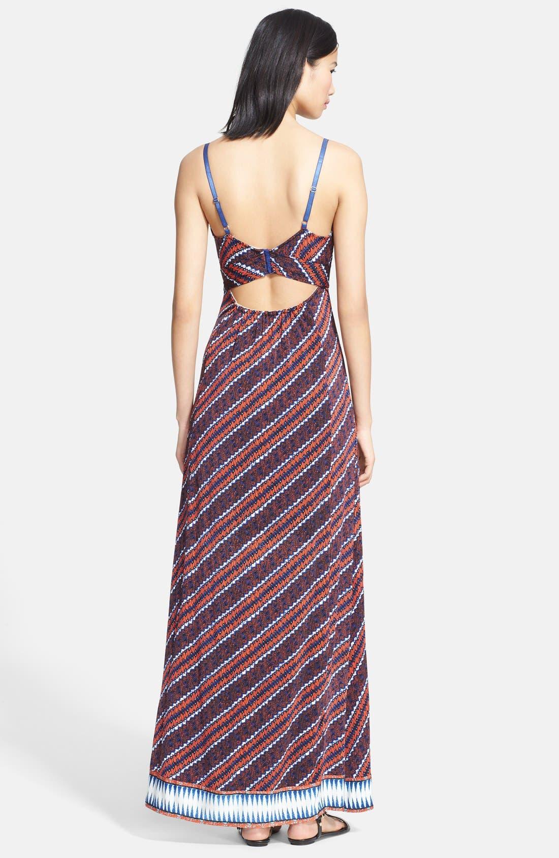 Alternate Image 2  - Tracy Reese Print Maxi Dress