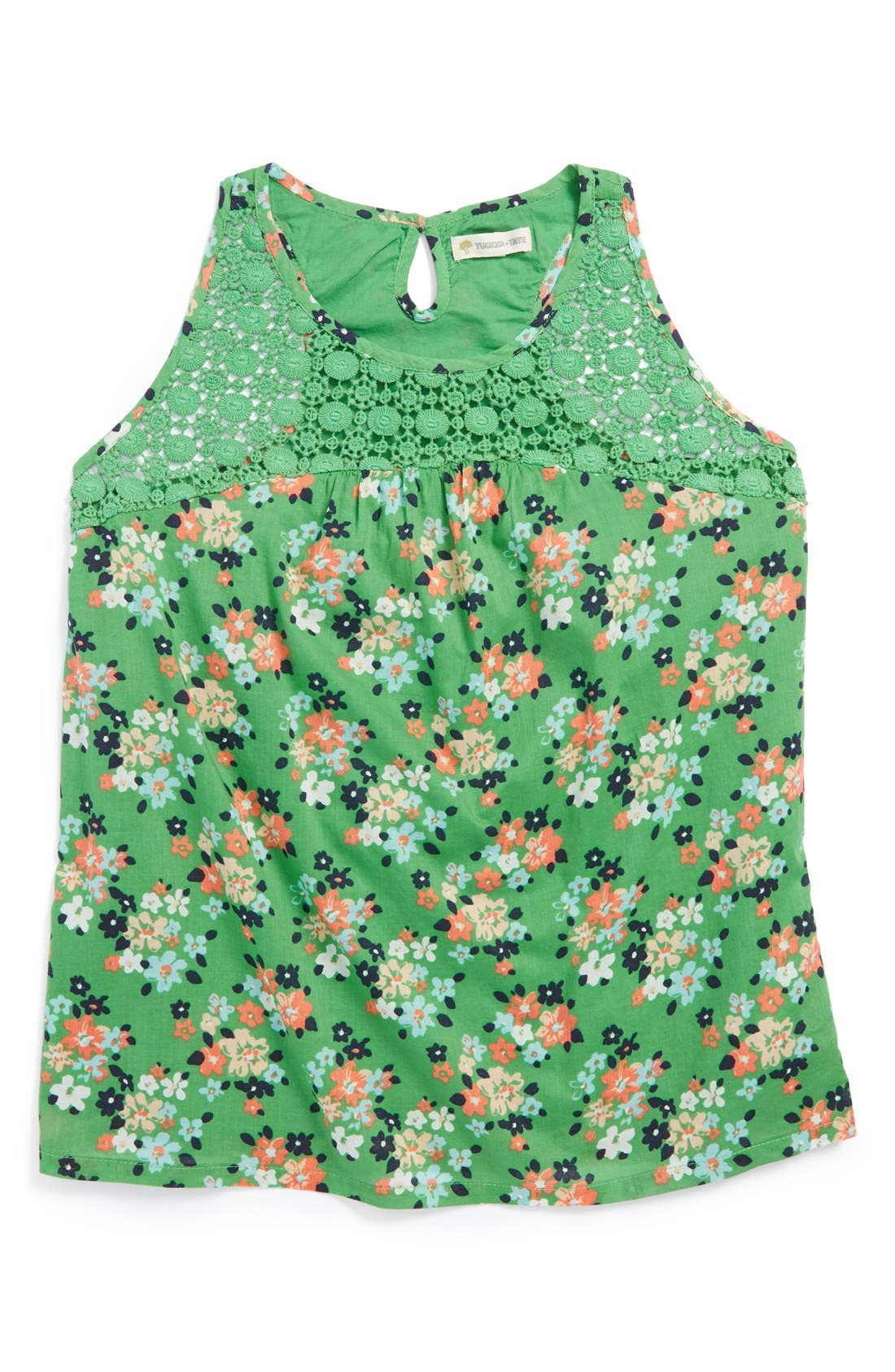 Alternate Image 1 Selected - Tucker + Tate 'Lily' Sleeveless Top (Big Girls)