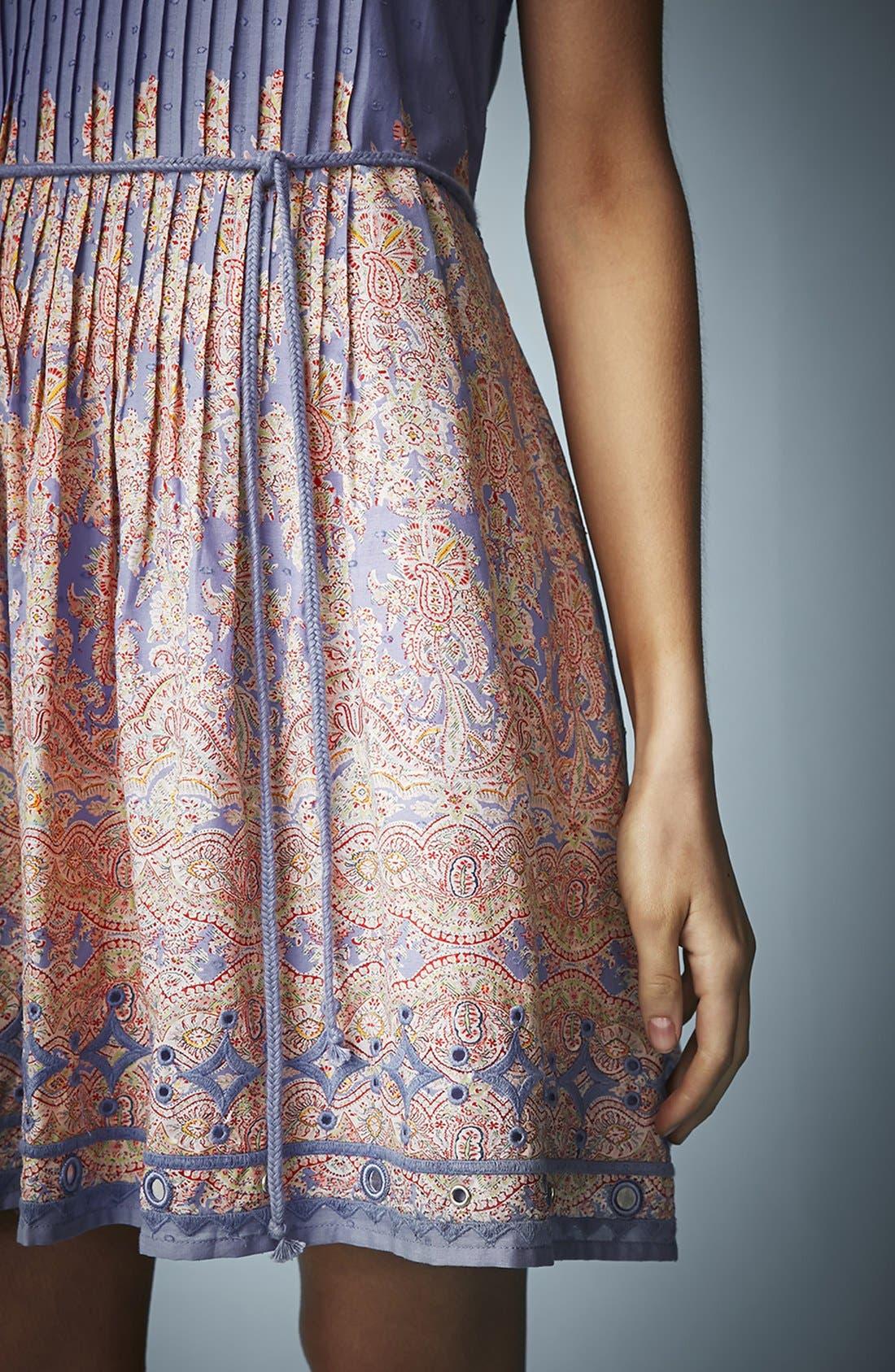 Alternate Image 4  - Kate Moss for Topshop Paisley Print Sundress