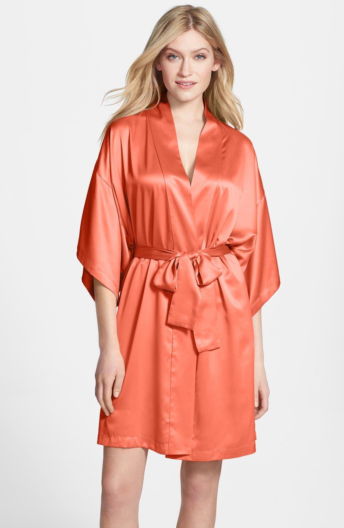 Main Image - Natori Charmeuse Kimono Robe