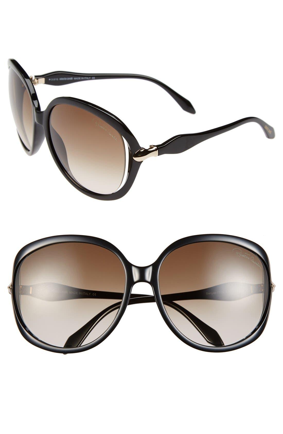 Main Image - Roberto Cavalli 61mm Oversized Sunglasses