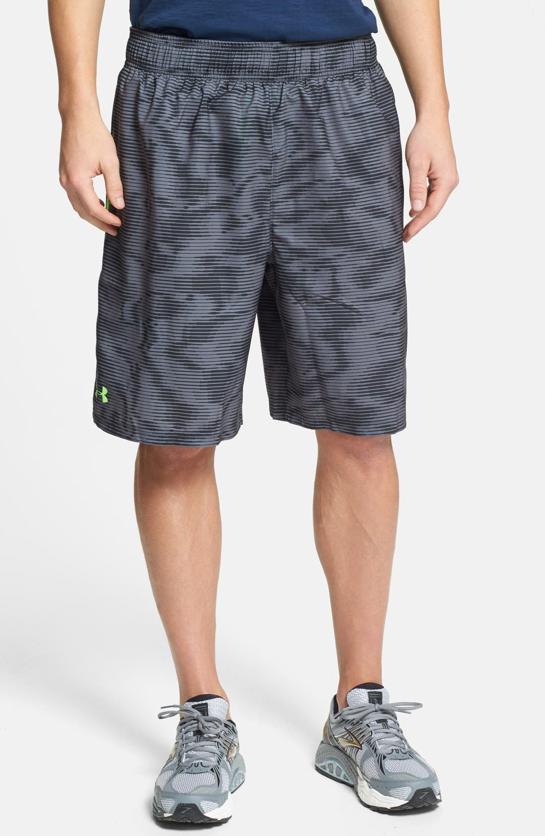 Main Image - Under Armour 'Mirage' HeatGear® Woven Shorts