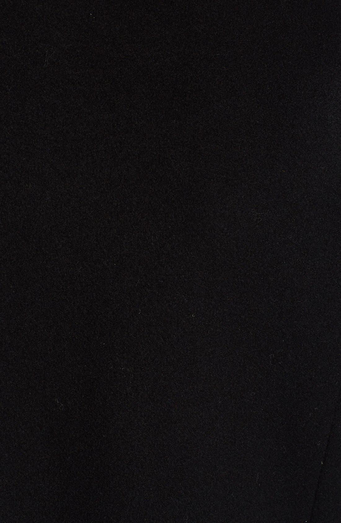 Alternate Image 4  - Stella McCartney Melton Wool Blend Coat