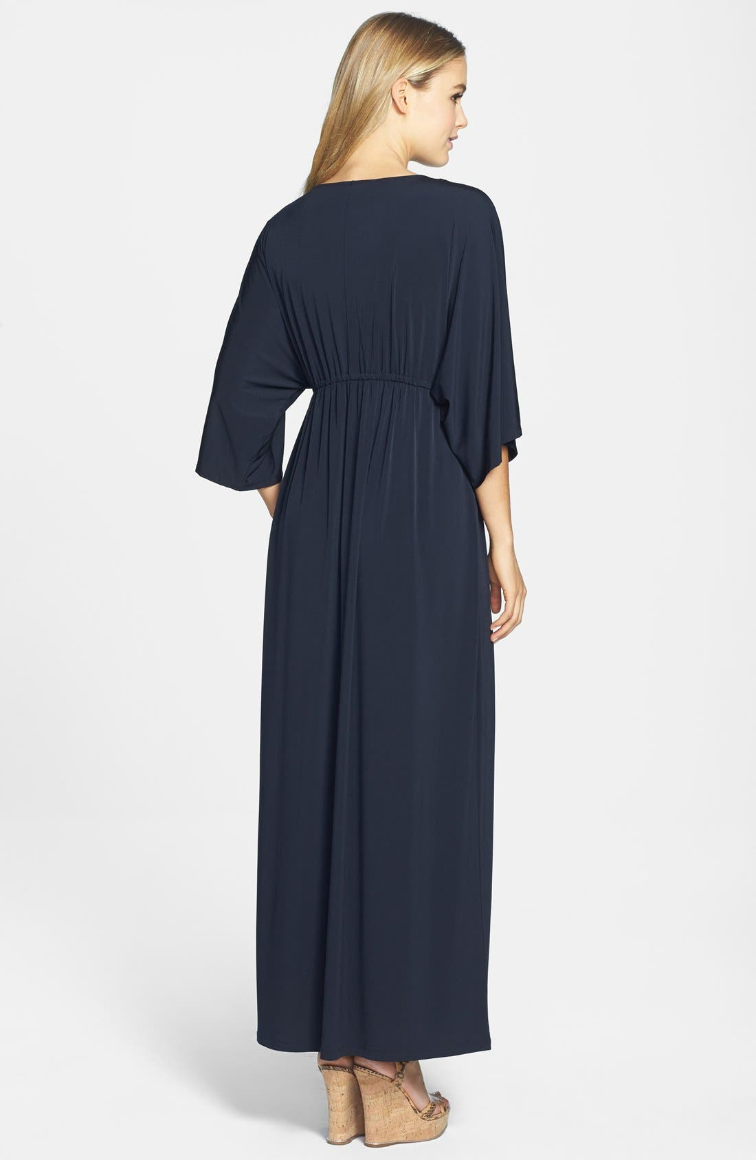 Alternate Image 2  - MICHAEL Michael Kors Embellished V-Neck Maxi Dress