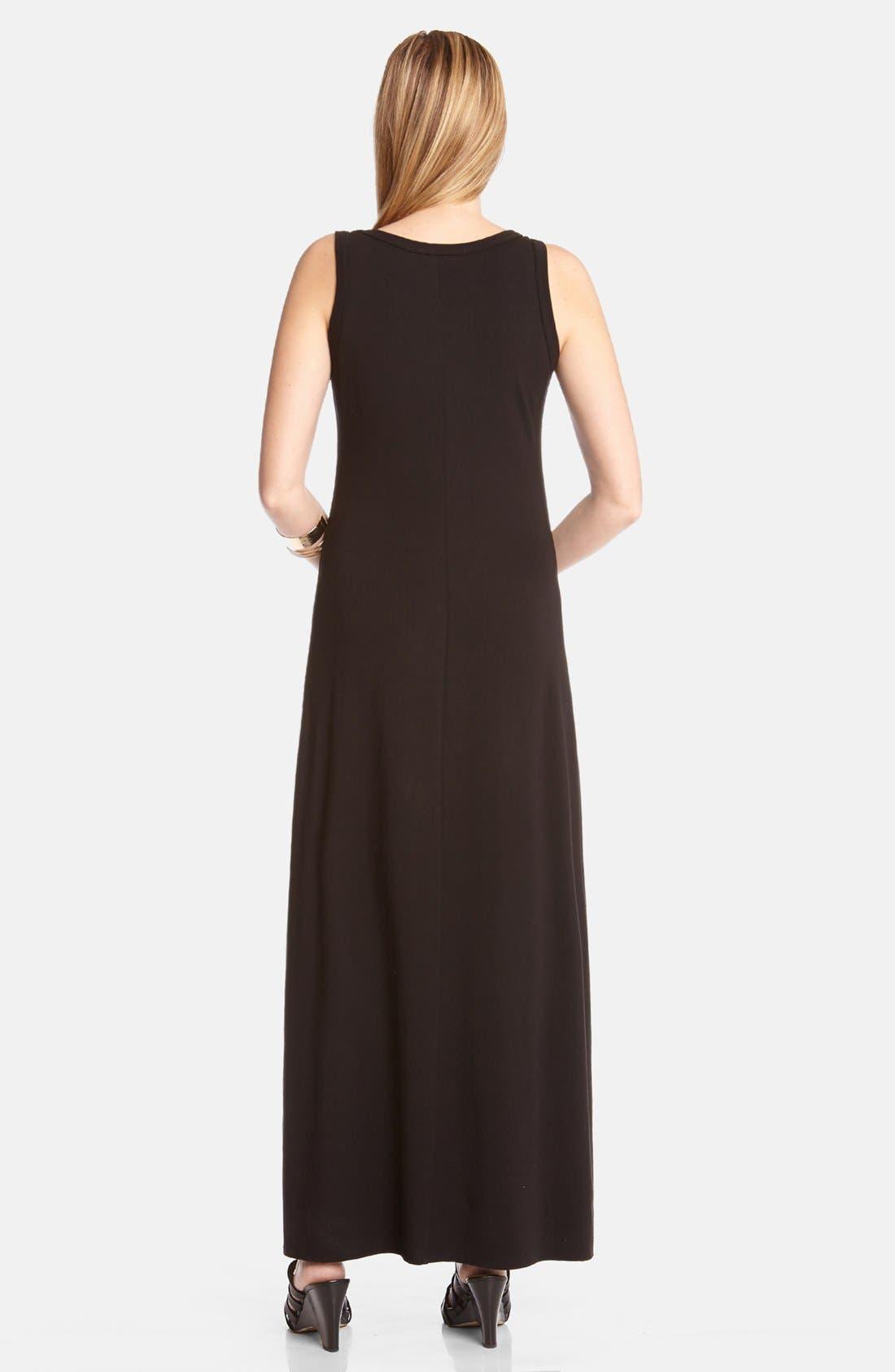 Alternate Image 2  - Karen Kane Studded Maxi Dress