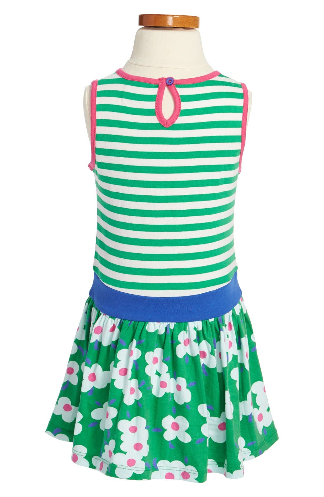 Alternate Image 2  - Mini Boden 'Jolly' Cotton Jersey Dress (Little Girls & Big Girls)