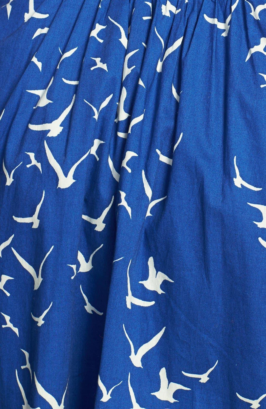 Alternate Image 3  - City Chic 'Seaside' Fit & Flare Dress (Plus Size)