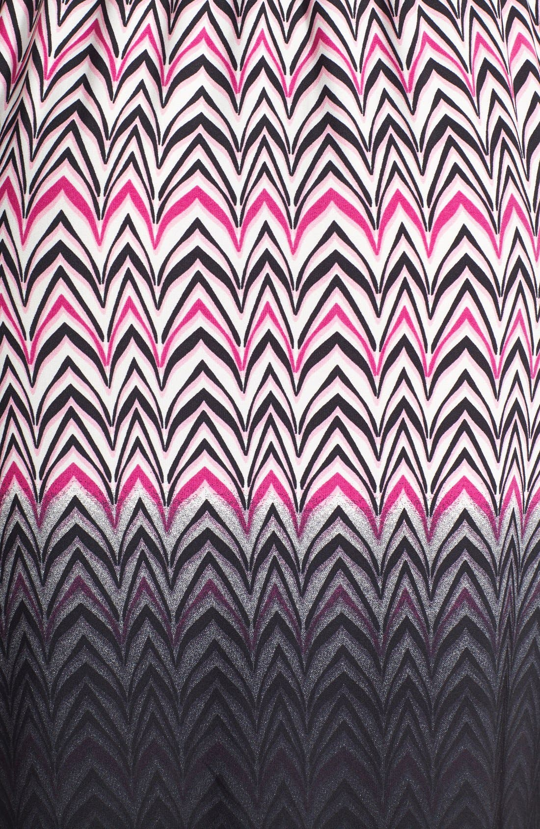 Alternate Image 4  - Maggy London Print Jersey Faux Wrap Dress