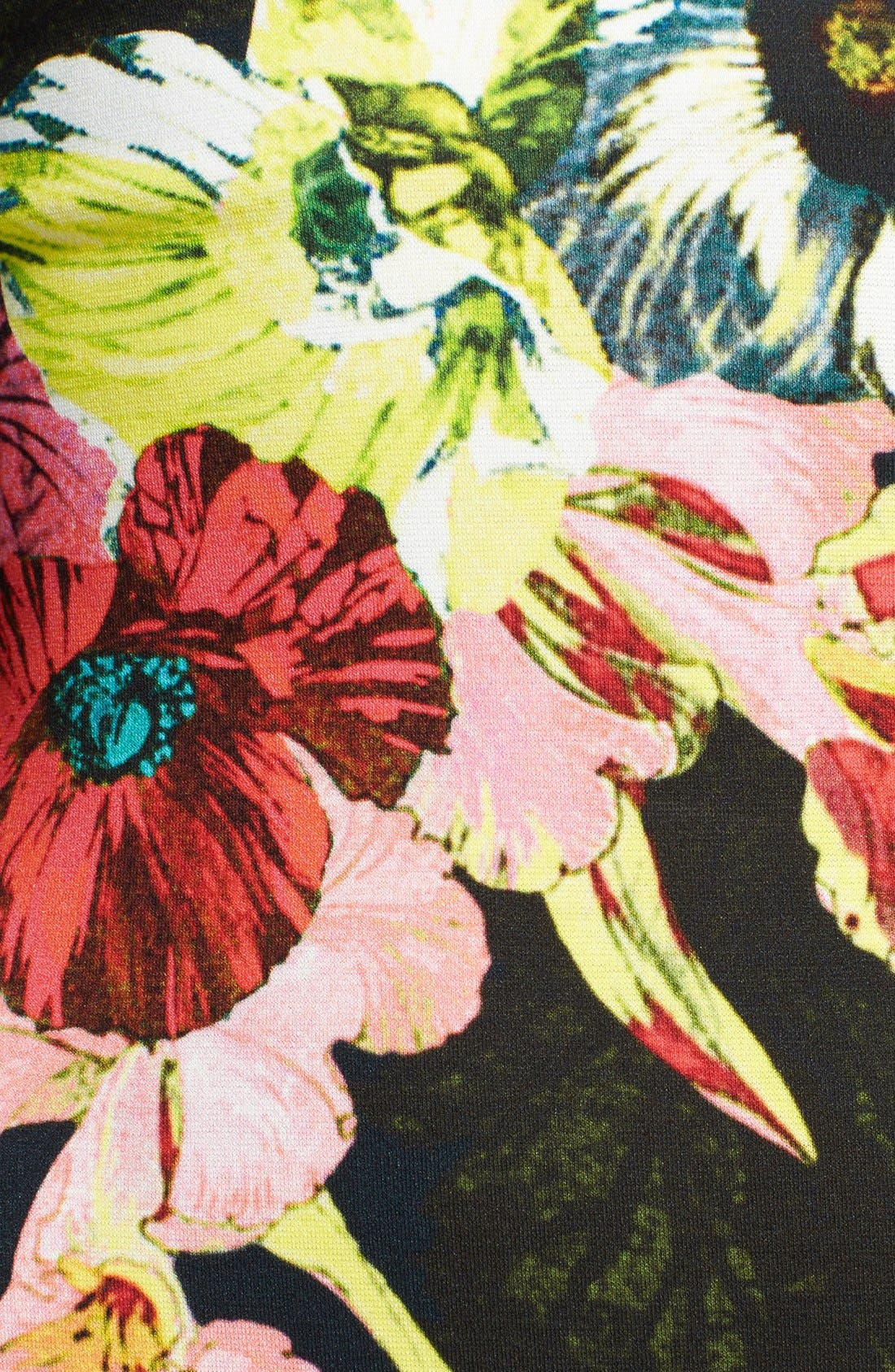 Alternate Image 3  - Erdem 'St. Gall' Print Ponte Jersey Fitted Dress