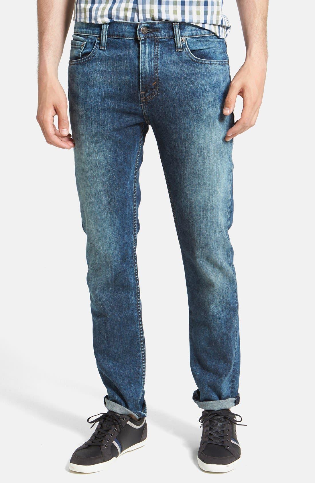 Main Image - Levi's® '511™' Slim Fit Jeans (Blue Foam)