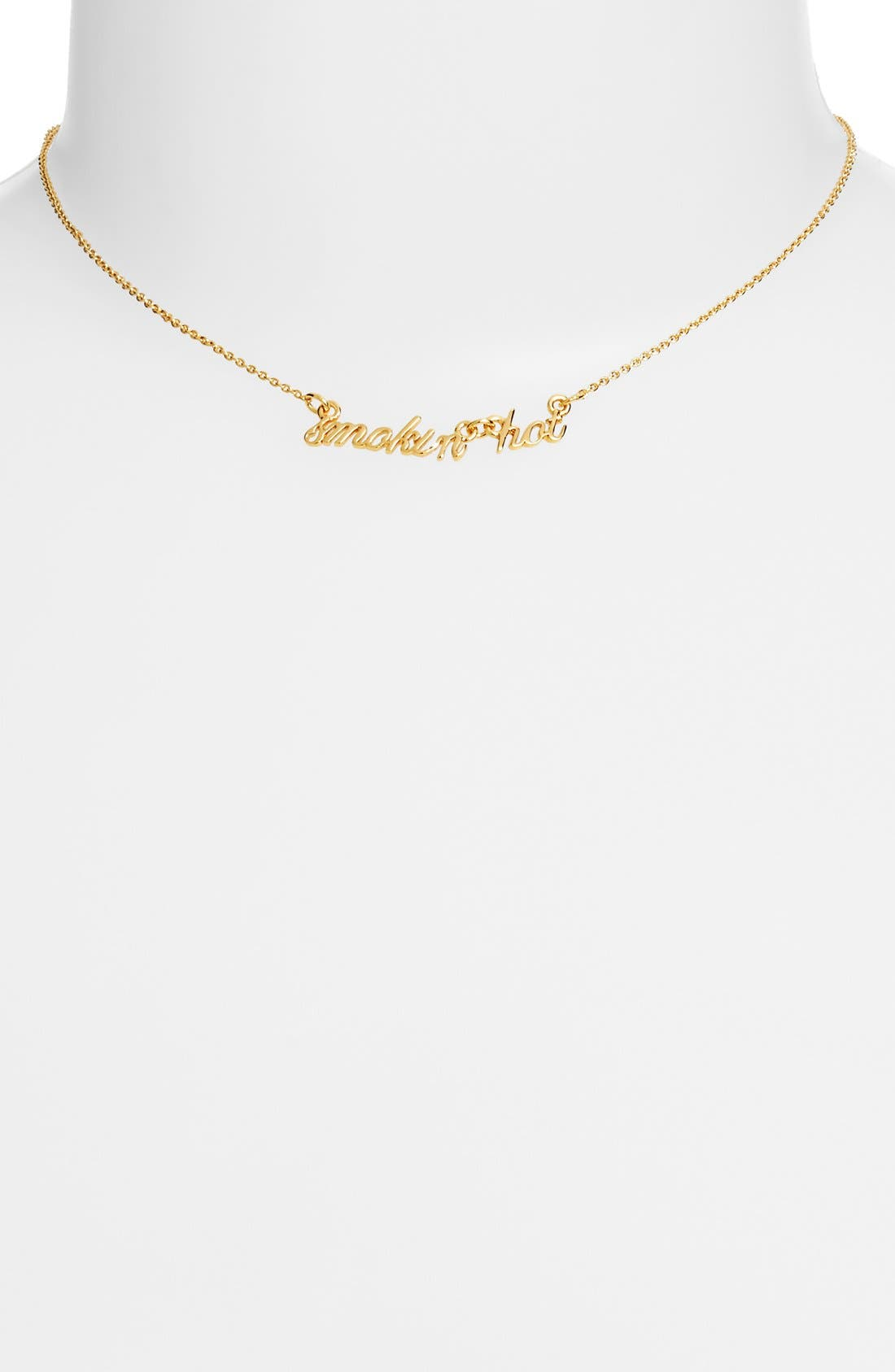 Alternate Image 2  - kate spade new york 'say yes - smoking hot' pendant necklace
