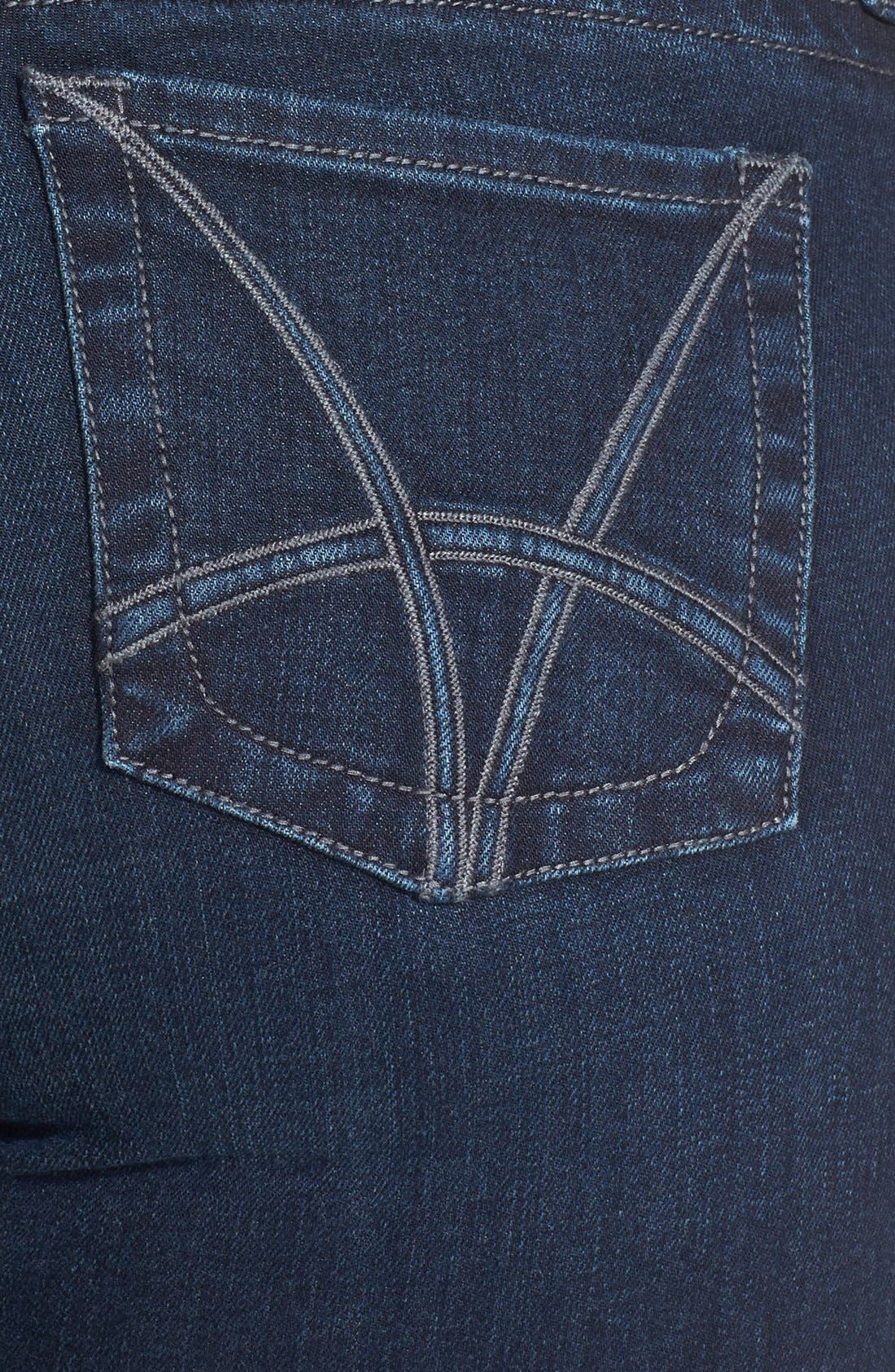 Alternate Image 3  - KUT from the Kloth 'Stevie' Straight Leg Jeans (Progressive) (Plus Size) (Online Only)