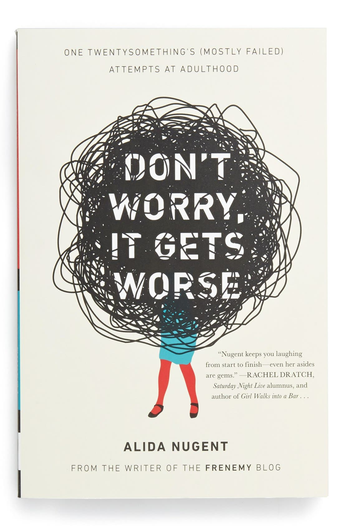 Alternate Image 1 Selected - 'Don't Worry, It Gets Worse' Book