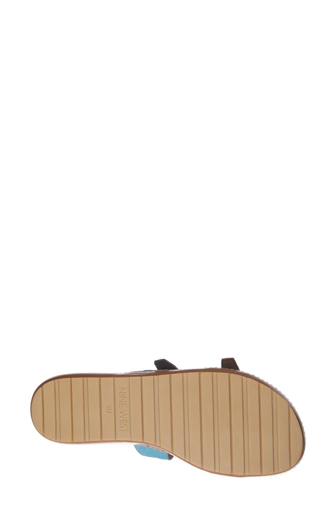 Alternate Image 4  - Nine West 'TickTock' Sandal