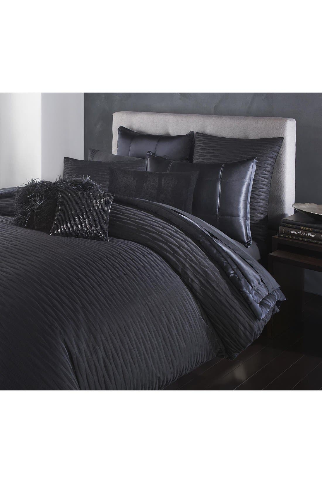 Alternate Image 2  - Donna Karan Collection 'Impression' Silk Charmeuse Quilt