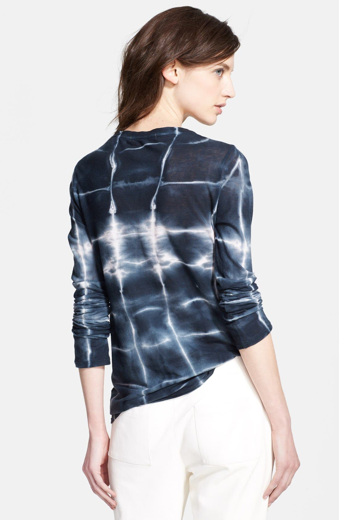 Alternate Image 2  - Whetherly 'Waverly' Long Sleeve Scoop Neck Tee