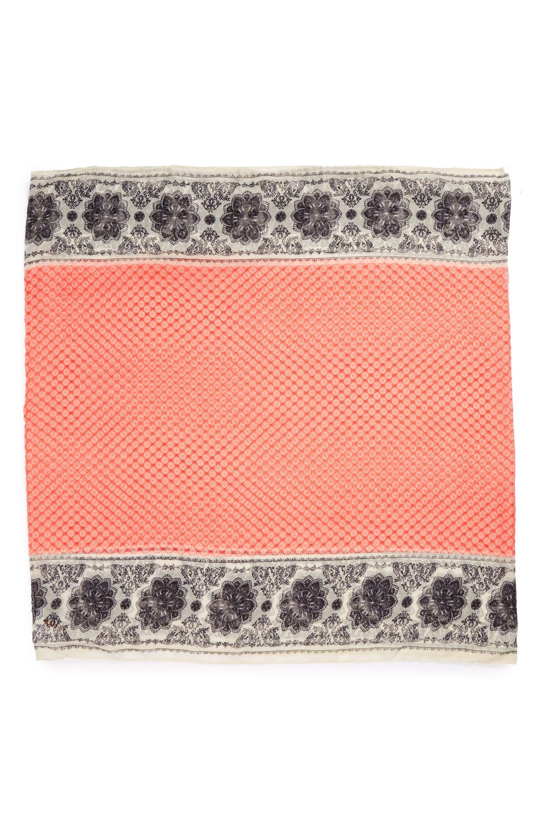 Alternate Image 2  - Sole Society Mixed Print Infinity Scarf