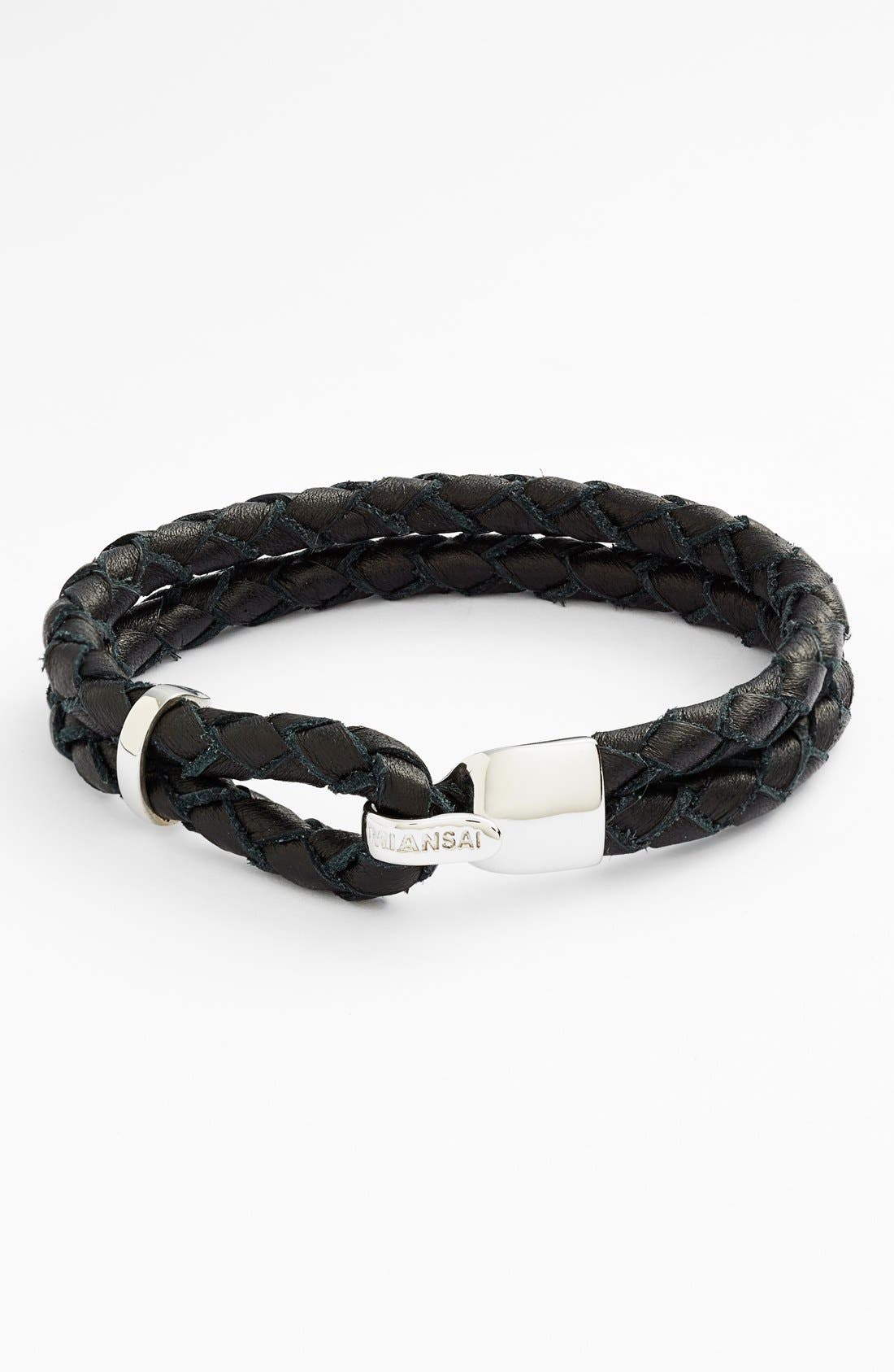 Miansai 'Beacon' Braided Leather Bracelet
