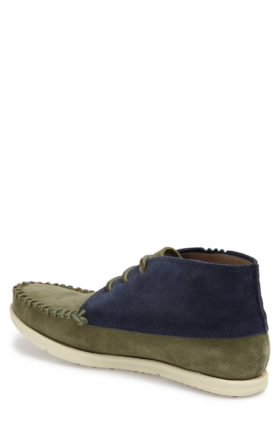 Alternate Image 2  - ohw? 'Louis' Two Tone Suede Moc Toe Boot (Men)