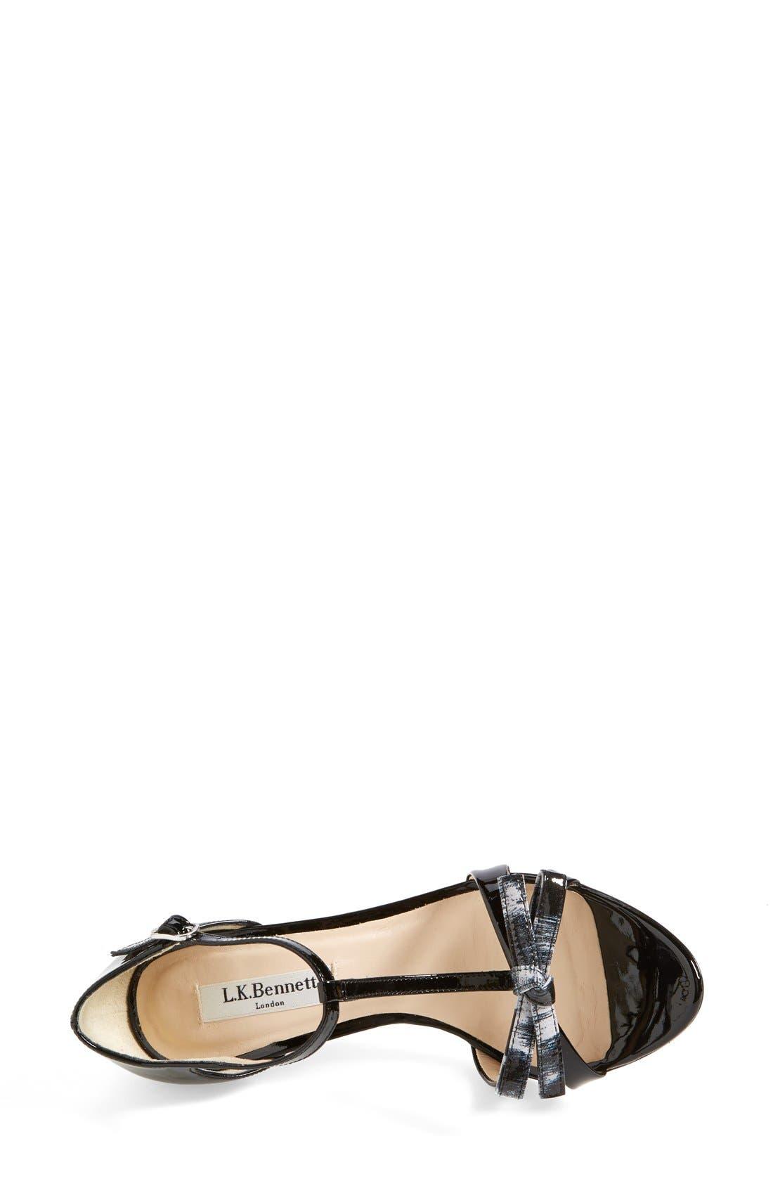 Alternate Image 3  - L.K. Bennett 'Anya' T-Strap Leather Sandal (Women)