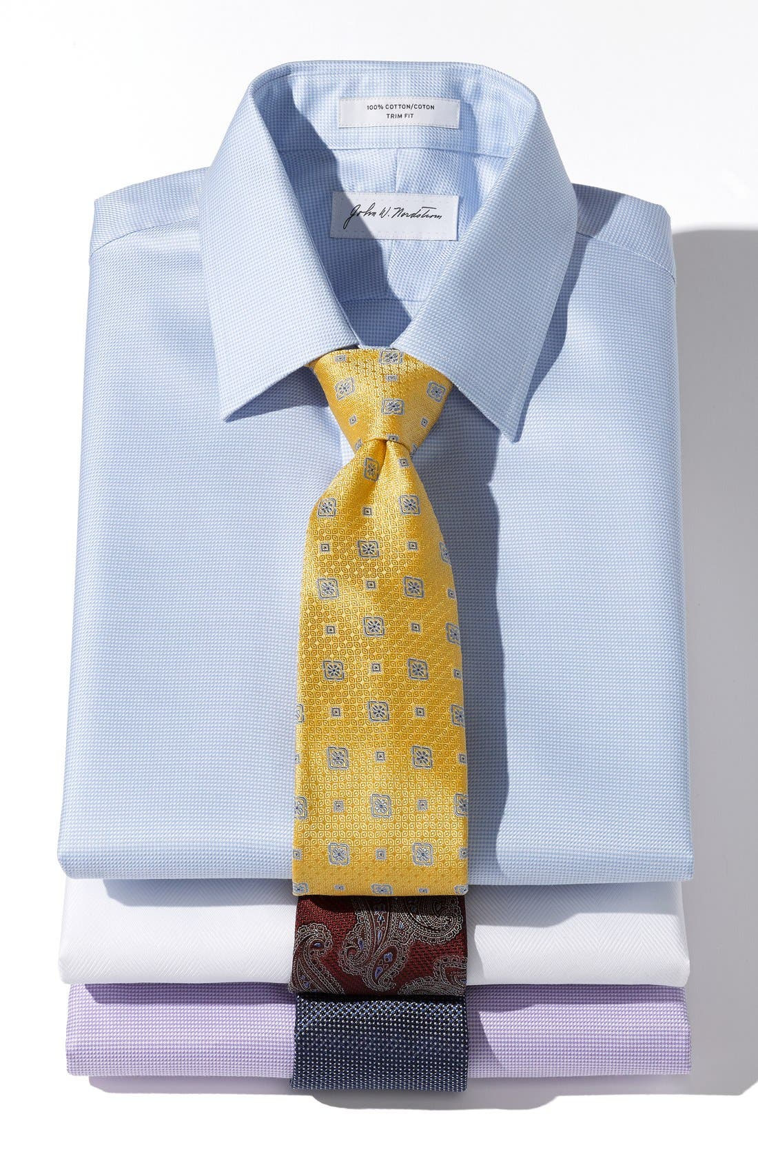 Alternate Image 2  - Nordstrom Woven Silk Tie