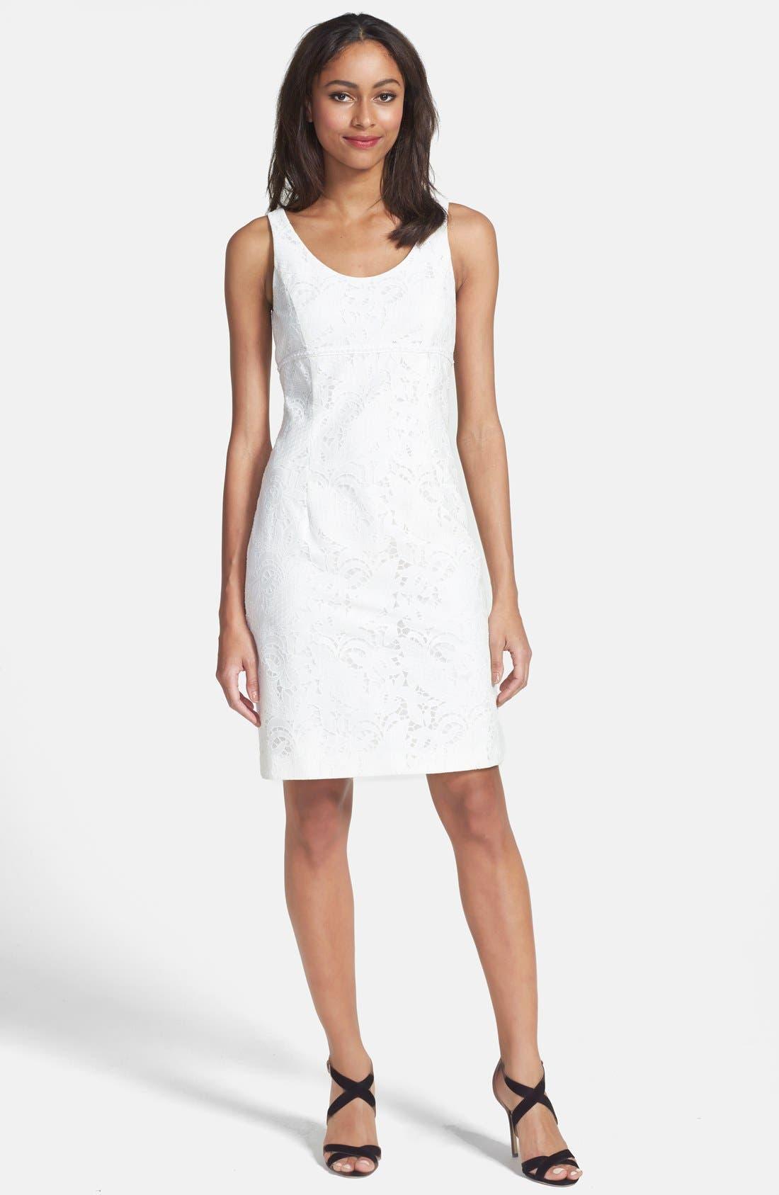 Alternate Image 3  - Tahari Lace Dress & Jacket