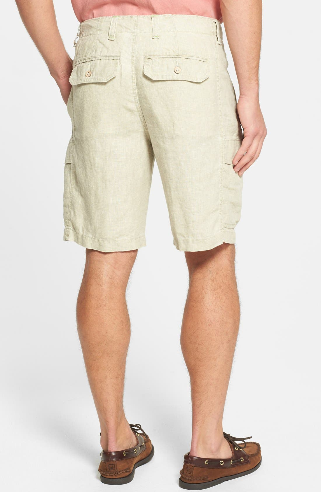 Alternate Image 2  - Tommy Bahama 'Summerland Keys' Linen Cargo Shorts