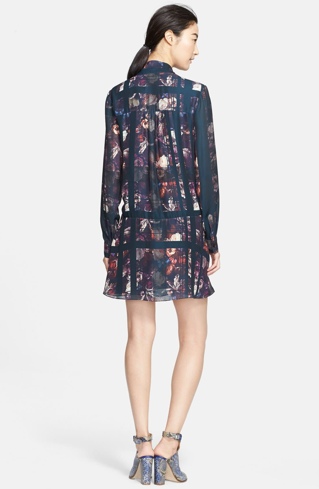 Alternate Image 2  - Thakoon Addition Print Drop Waist Dress