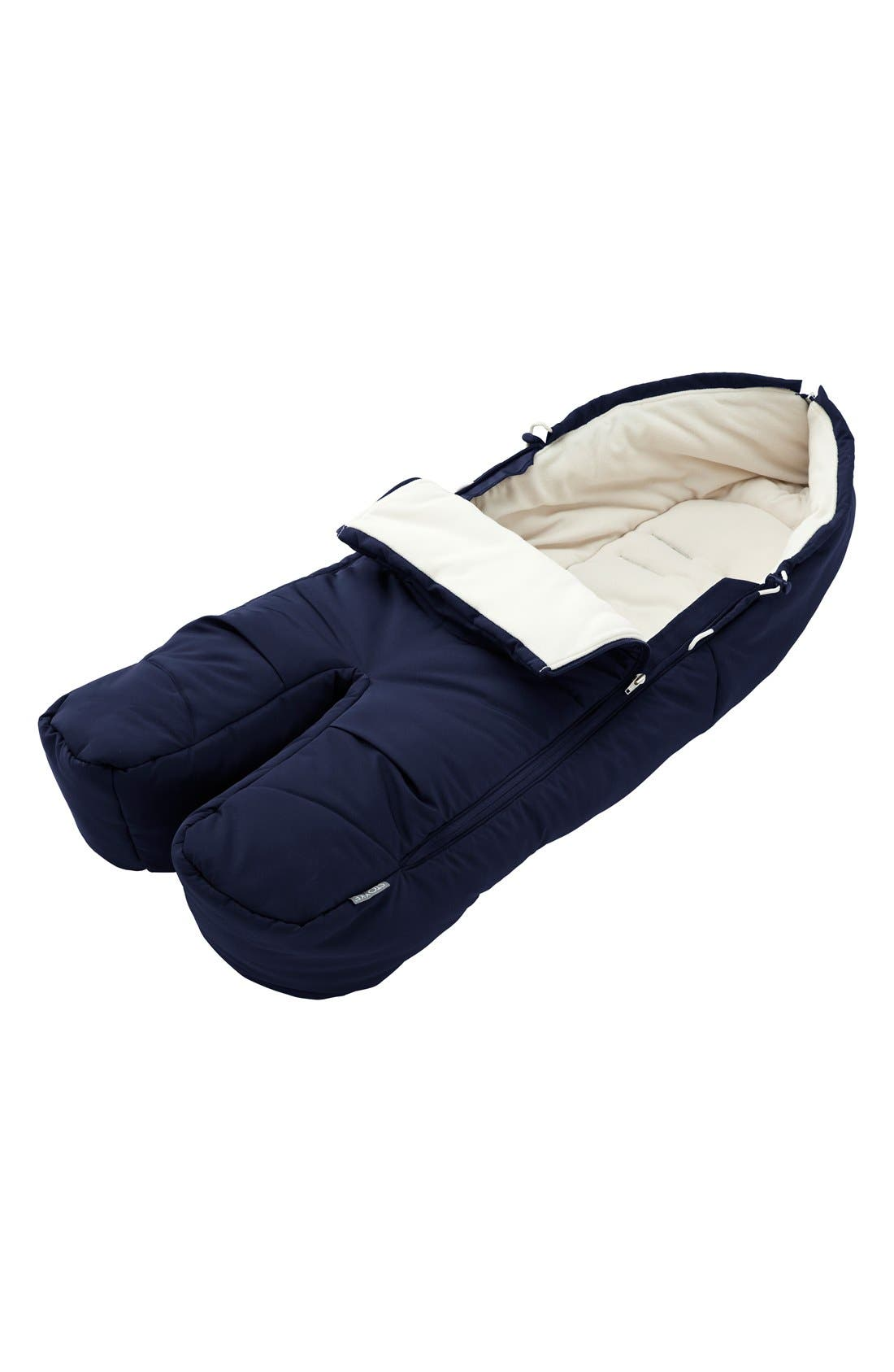 Stroller Footmuff,                         Main,                         color, Deep Blue