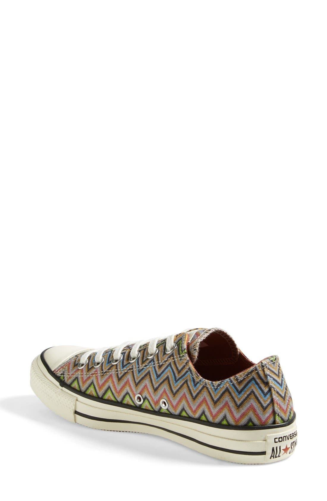 x Missoni Chuck Taylor<sup>®</sup> All Star<sup>®</sup> Low Sneaker,                             Alternate thumbnail 2, color,                             Lucky Stone/ Egret