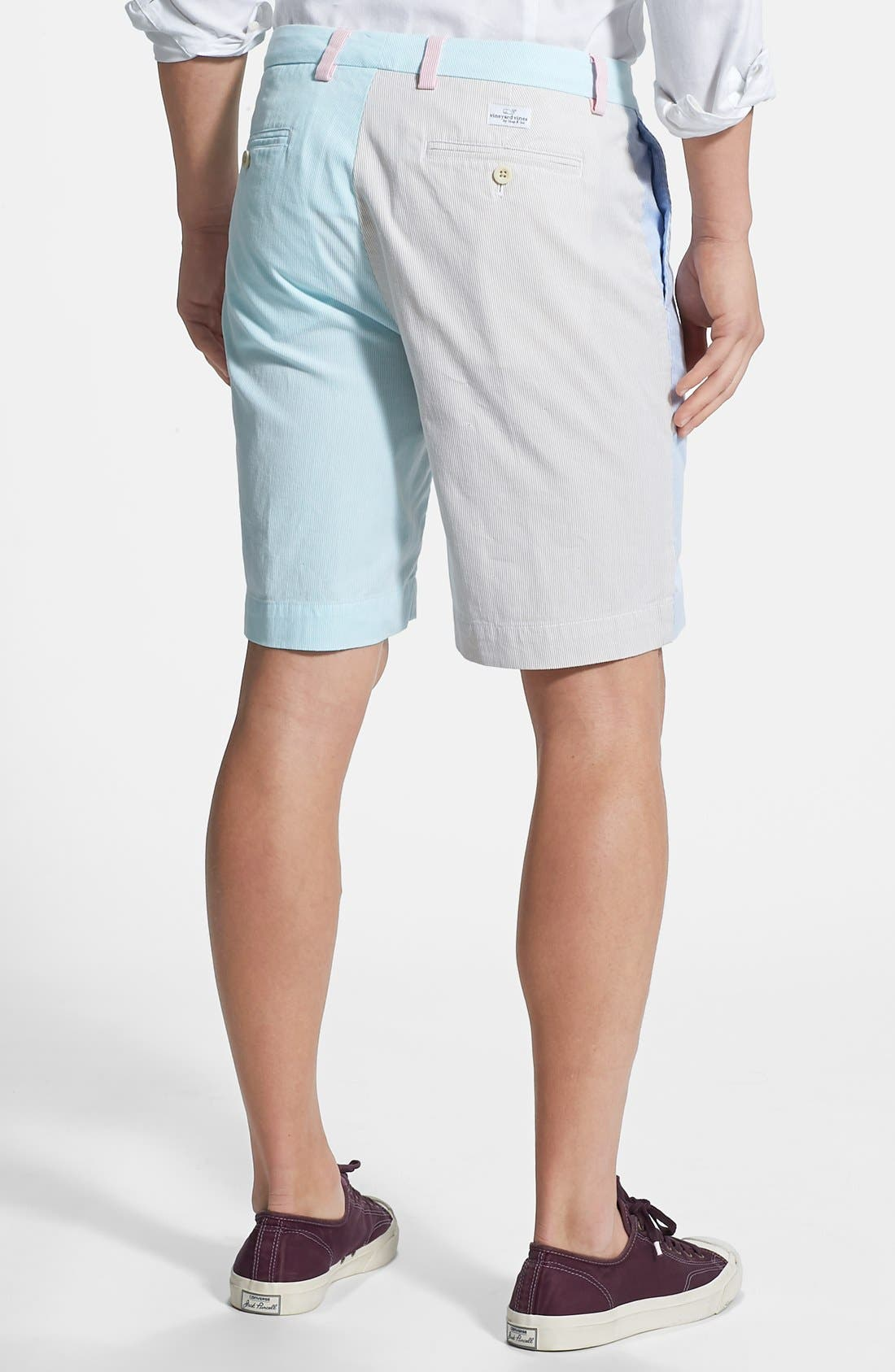 Alternate Image 2  - Vineyard Vines 'Pincord Party' Classic Fit Shorts