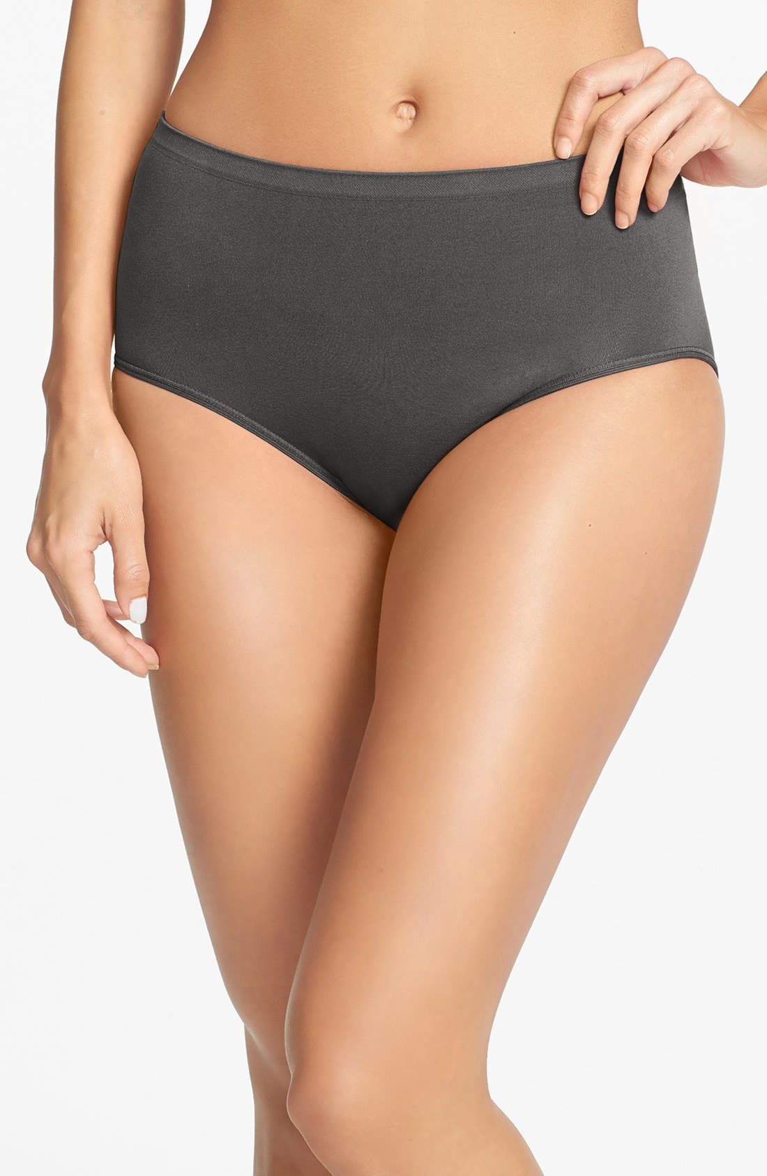 Alternate Image 1 Selected - Shimera Seamless Full Briefs (3 for $33)