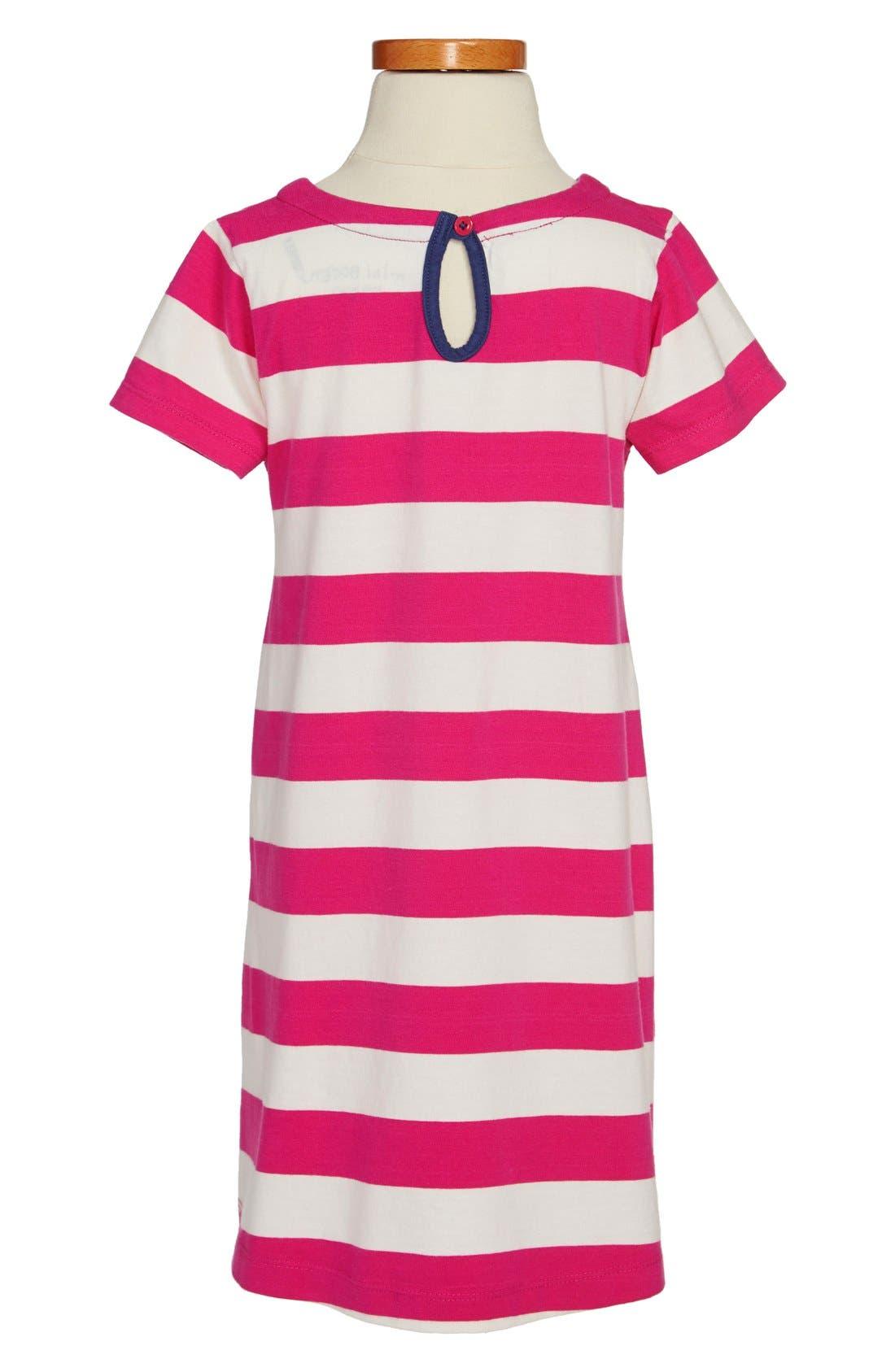 Alternate Image 2  - Mini Boden Appliqué Cotton Dress (Toddler Girls, Little Girls & Big Girls)