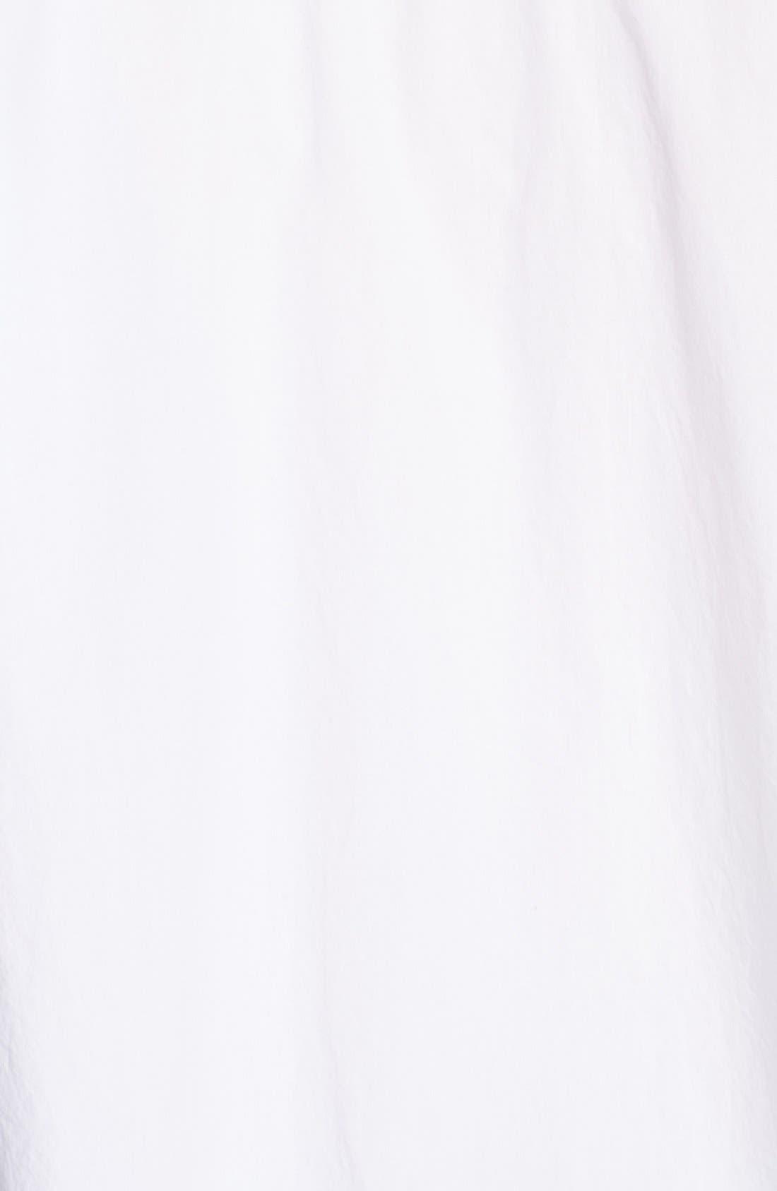 Alternate Image 4  - Donna Karan Drawstring Hem Cotton Blouse