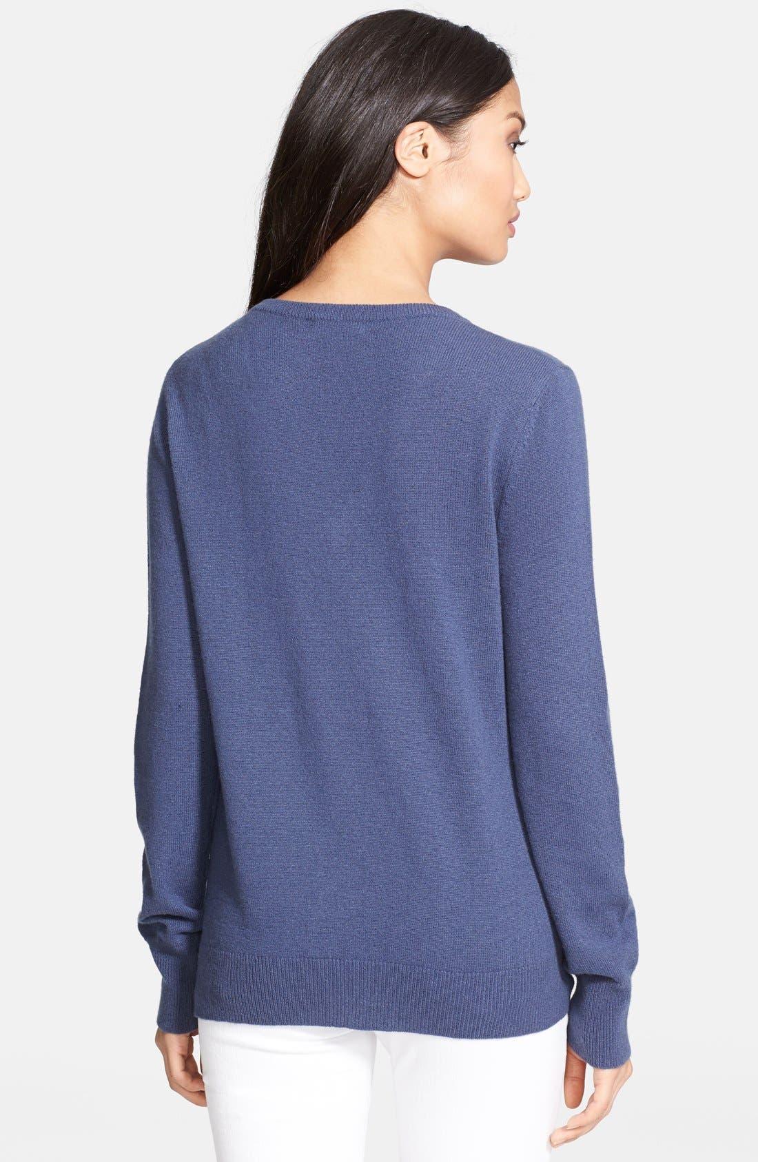 Alternate Image 2  - Equipment 'Cecile' Cashmere Sweater