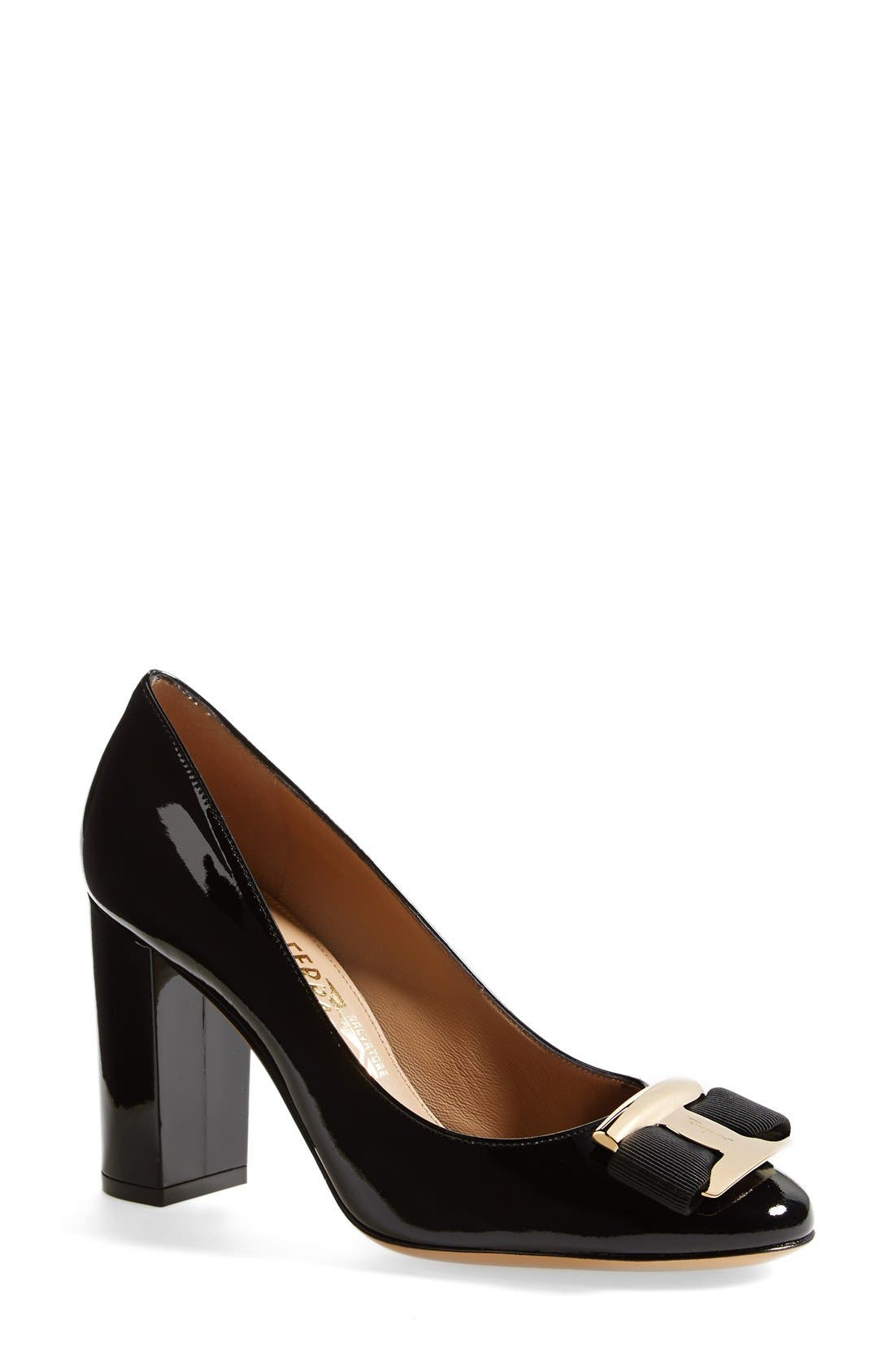 Alternate Image 1 Selected - Salvatore Ferragamo 'Ninna 85' Pump (Women)