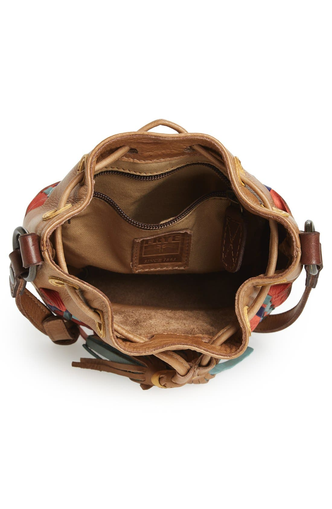 Alternate Image 3  - Frye 'Heather' Leather Bucket Bag