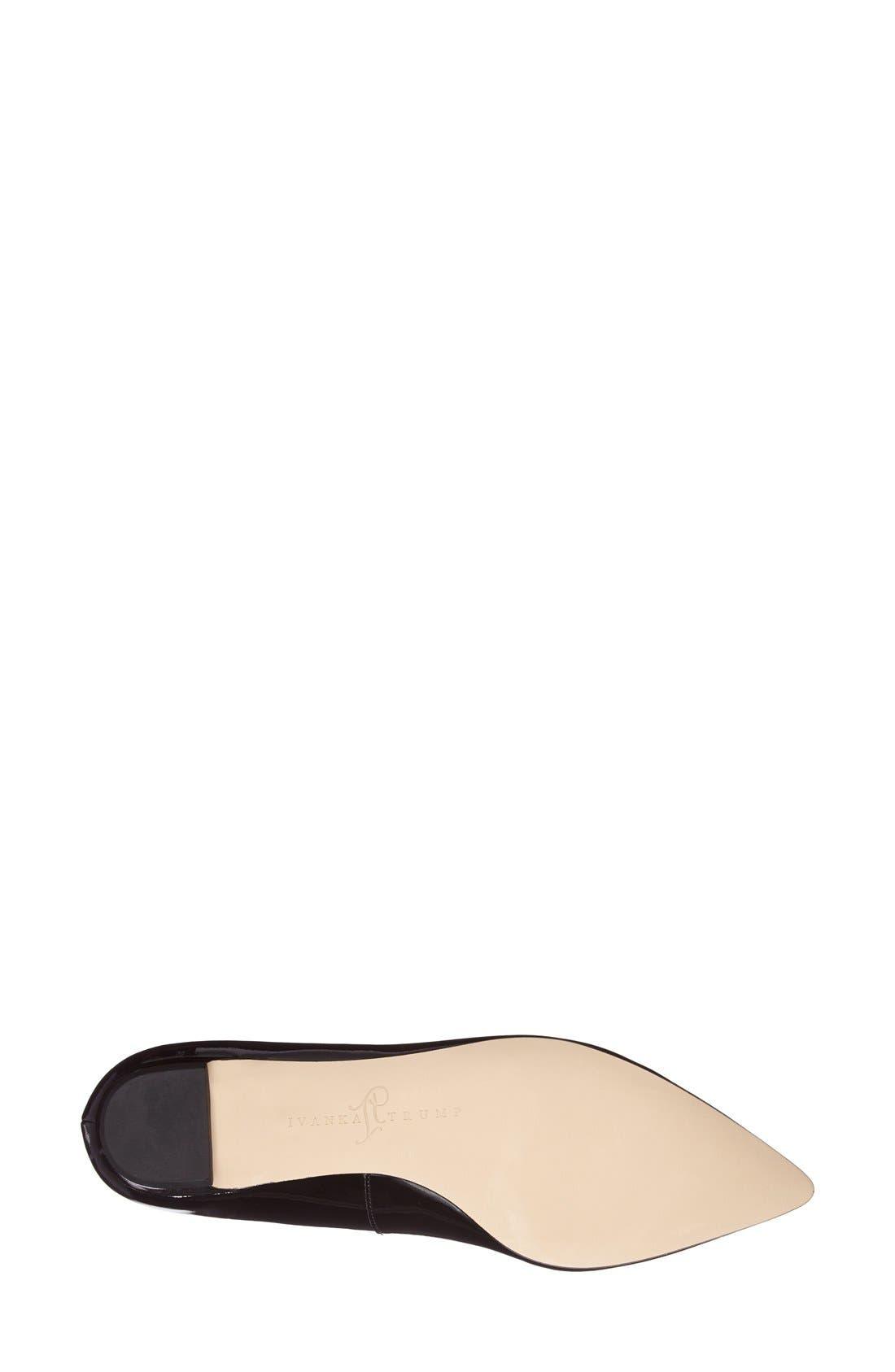 Alternate Image 4  - Ivanka Trump 'Tizzy' Pointed Toe Ballet Flat (Women)