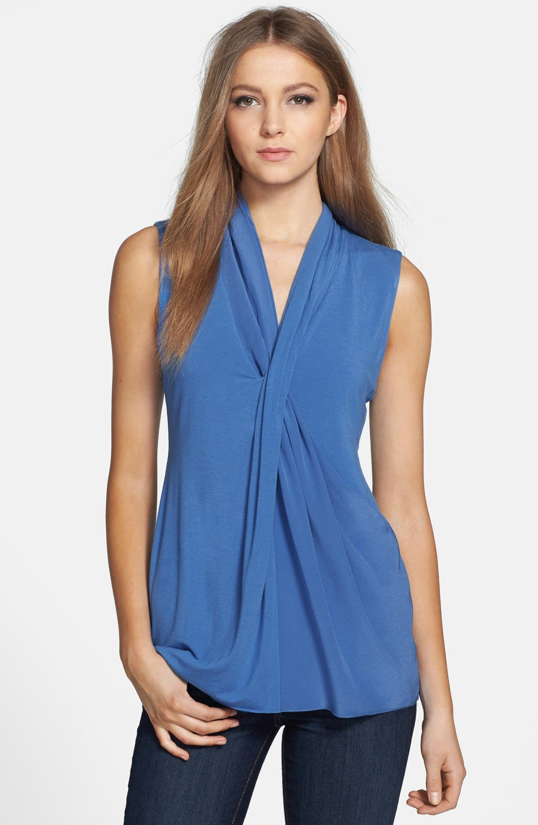 Alternate Image 1 Selected - Bailey 44 'Metaphysical' Draped Front Top