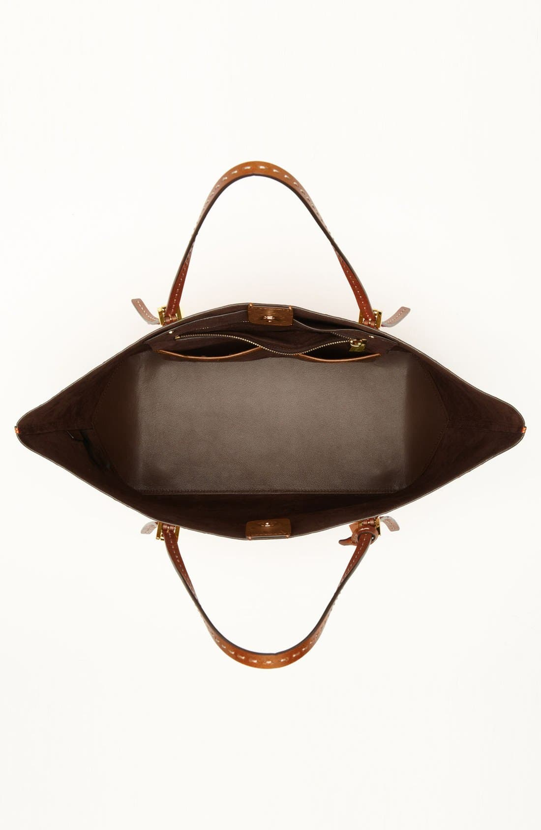 Alternate Image 3  - Michael Kors 'Gia' Ostrich Embossed Leather Tote