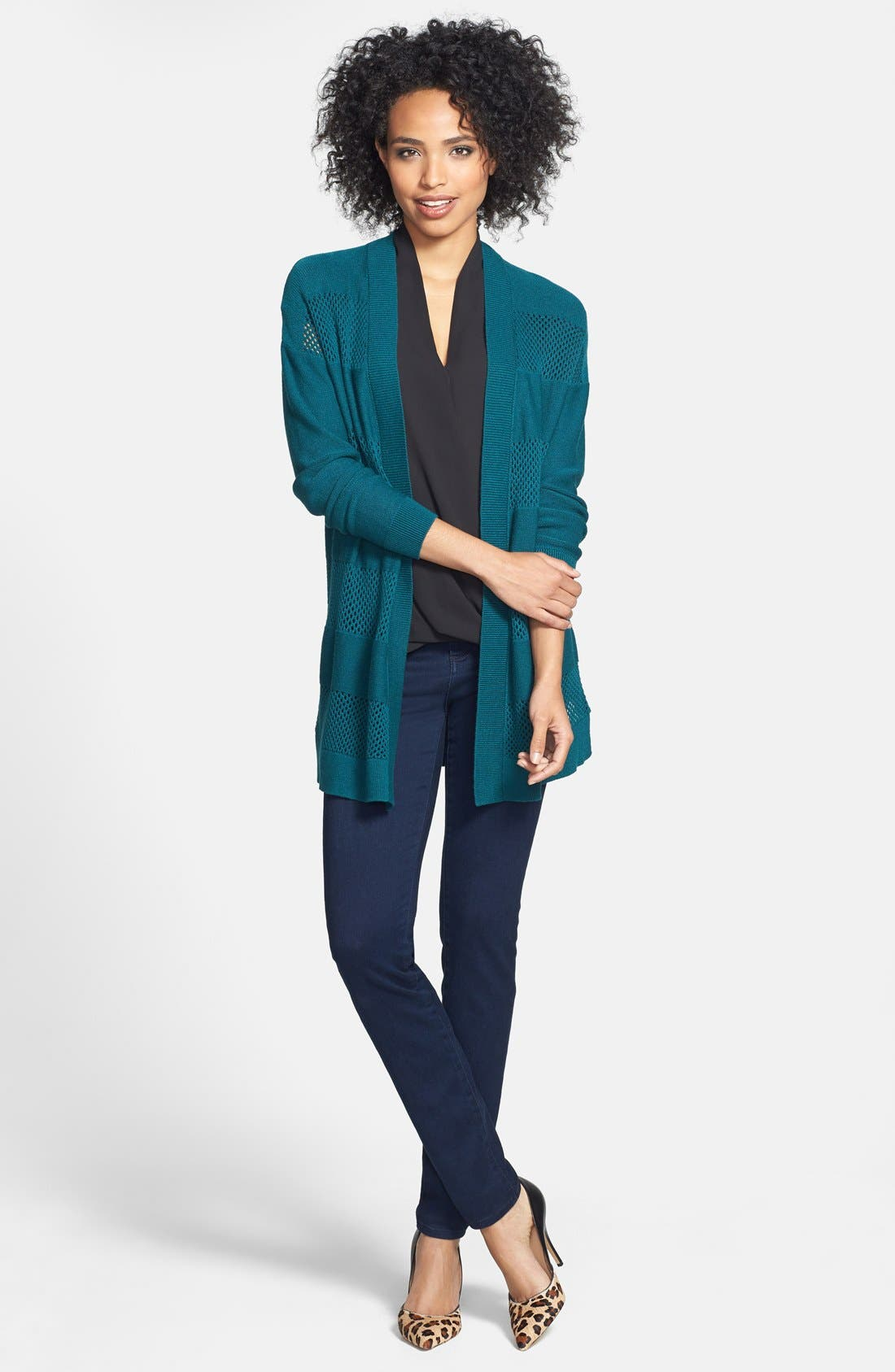 Alternate Image 7  - KUT from the Kloth 'Mia' Stretch Skinny Jeans (Graceful)