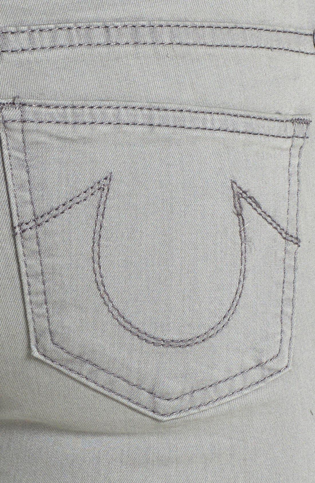 Alternate Image 3  - True Religion Brand Jeans 'Halle' Skinny Jeans (Protester's Song)