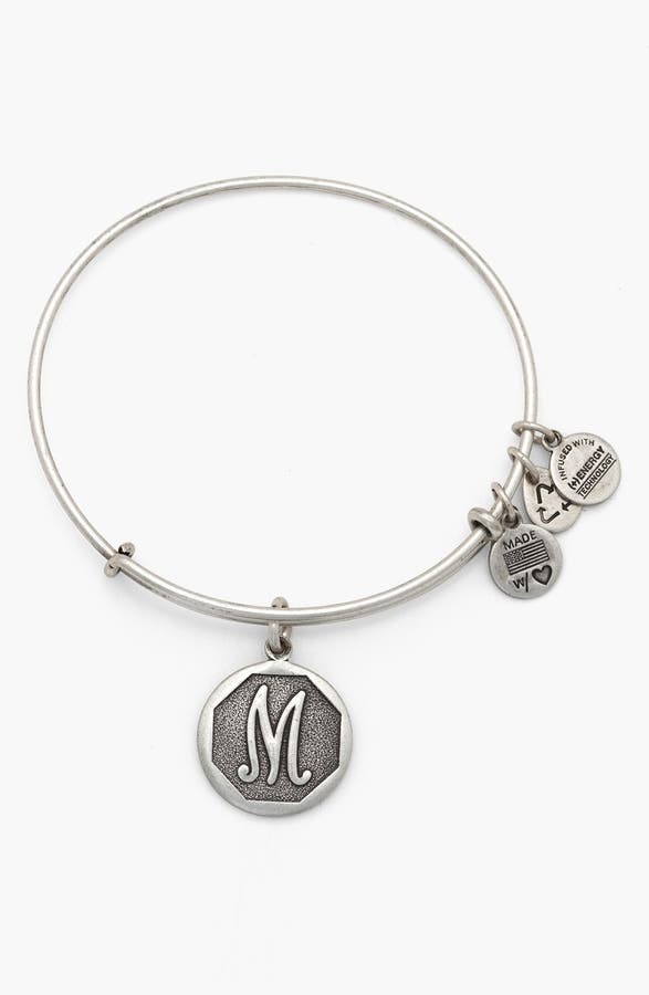 Main Image Alex And Ani Initial Adjule Wire Bangle