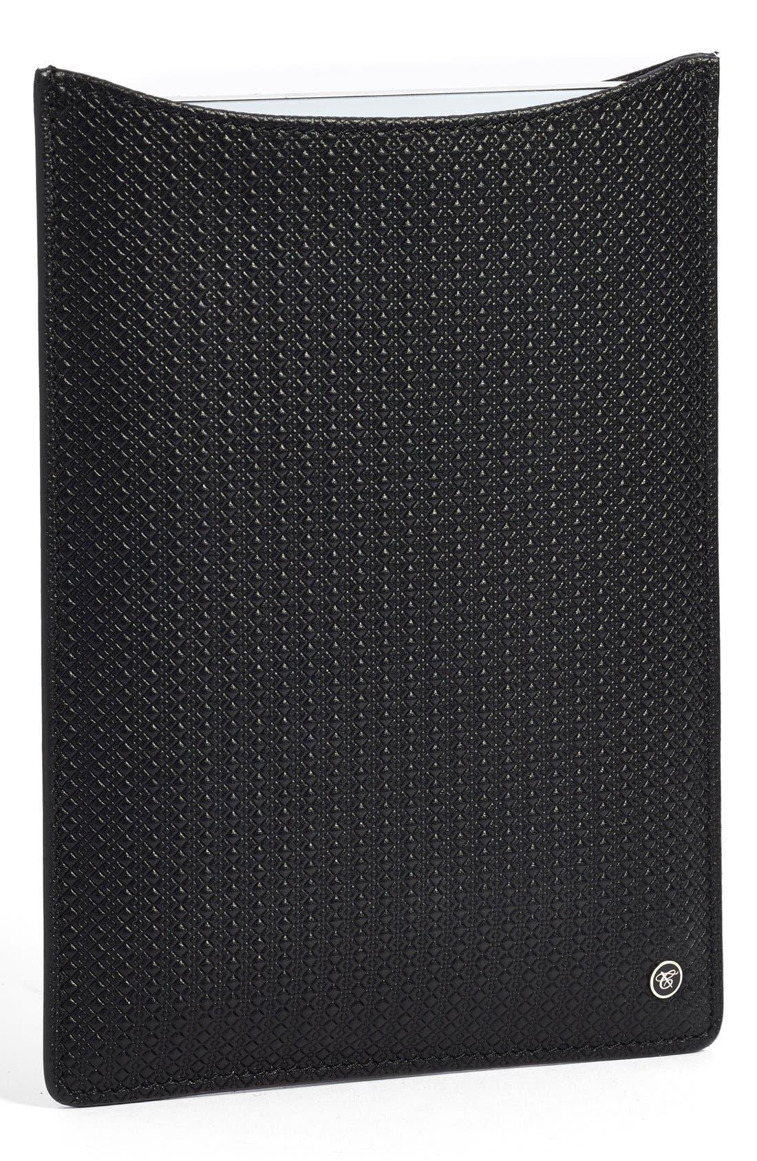 Alternate Image 1 Selected - Canali Leather iPad Mini Sleeve