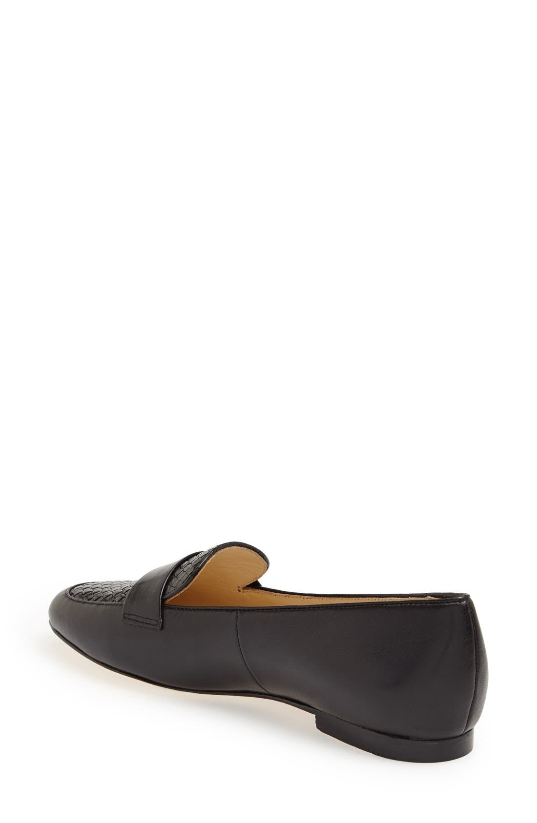 Alternate Image 4  - Cole Haan 'Dakota' Woven Leather Loafer (Women)