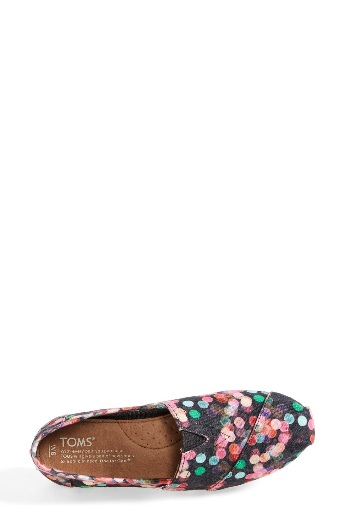 Alternate Image 3  - TOMS 'Classic - Night Lights' Slip-On (Nordstrom Exclusive) (Women)