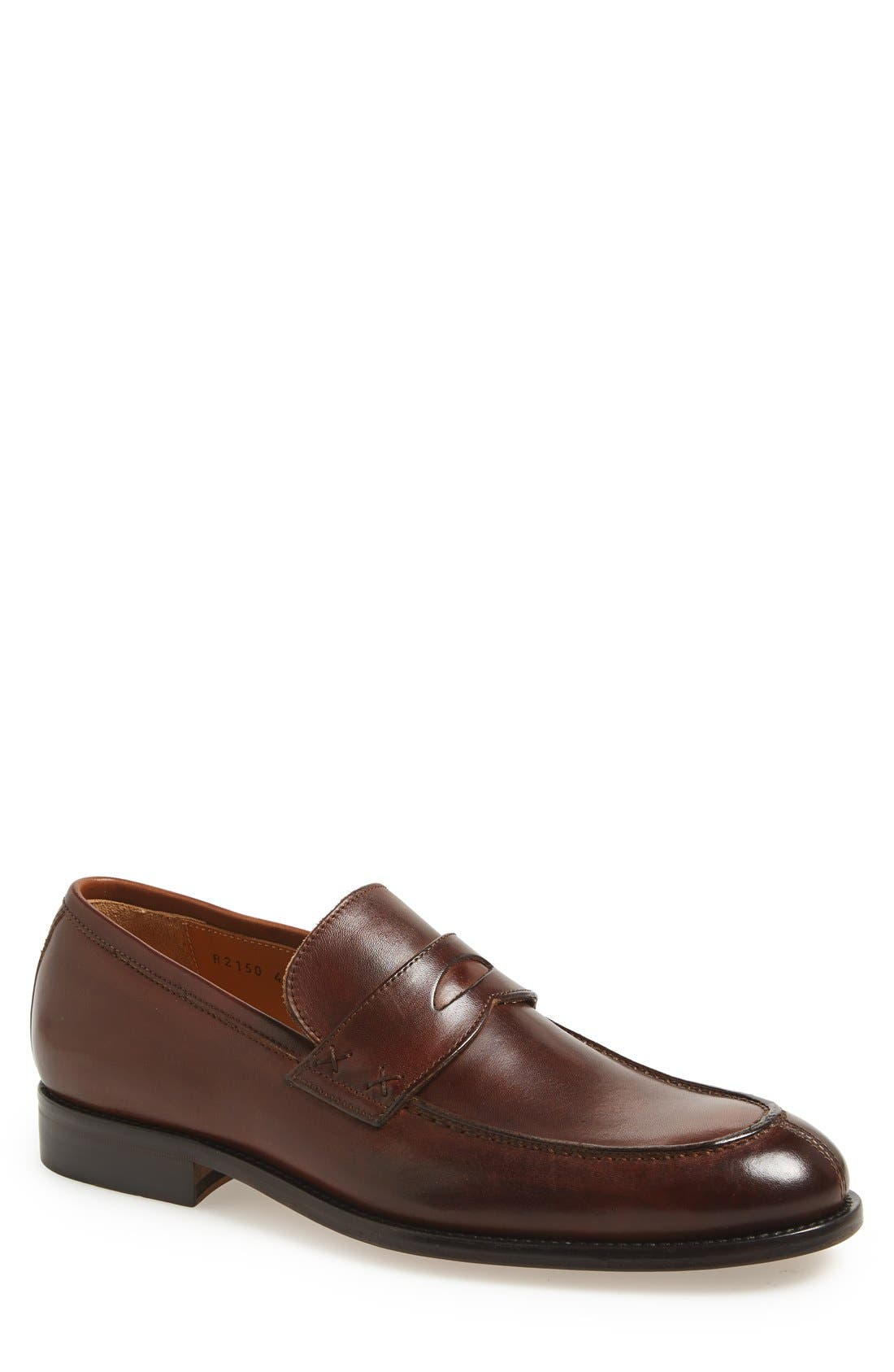 Alternate Image 1 Selected - Dogen 'Vitello Crust' Penny Loafer (Men)
