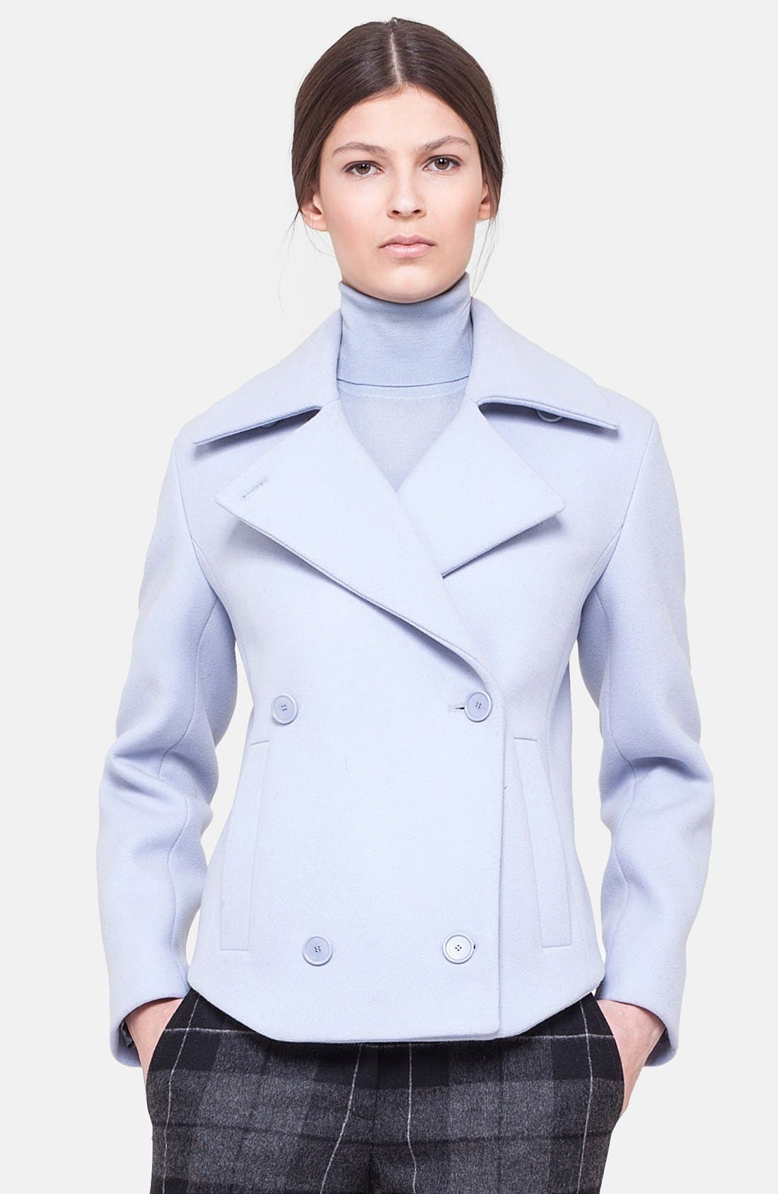 Main Image - Akris punto Double Breasted Wool Jacket