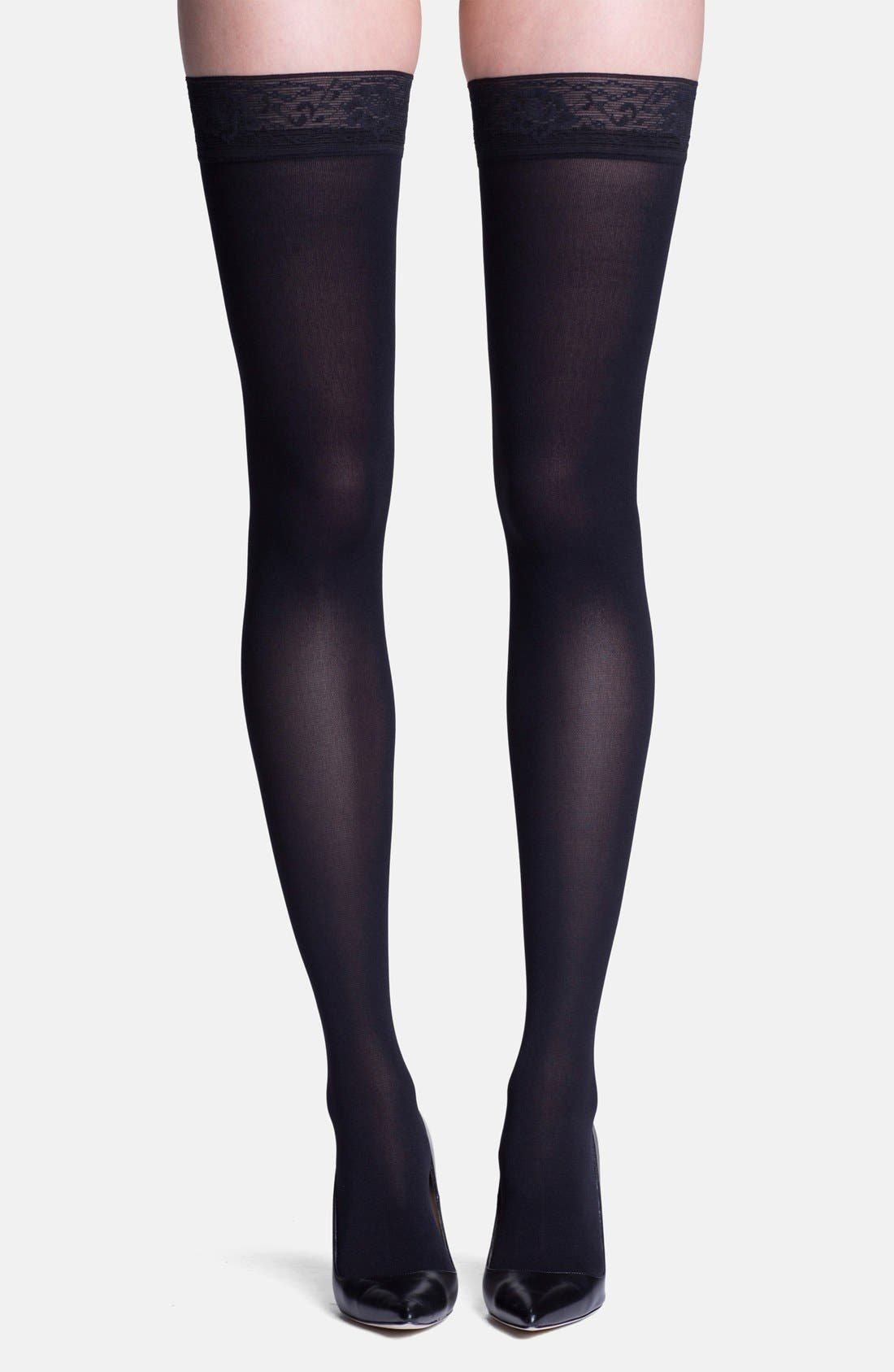 INSIGNIA by SIGVARIS 'Headliner' Graduated Compression Thigh Highs