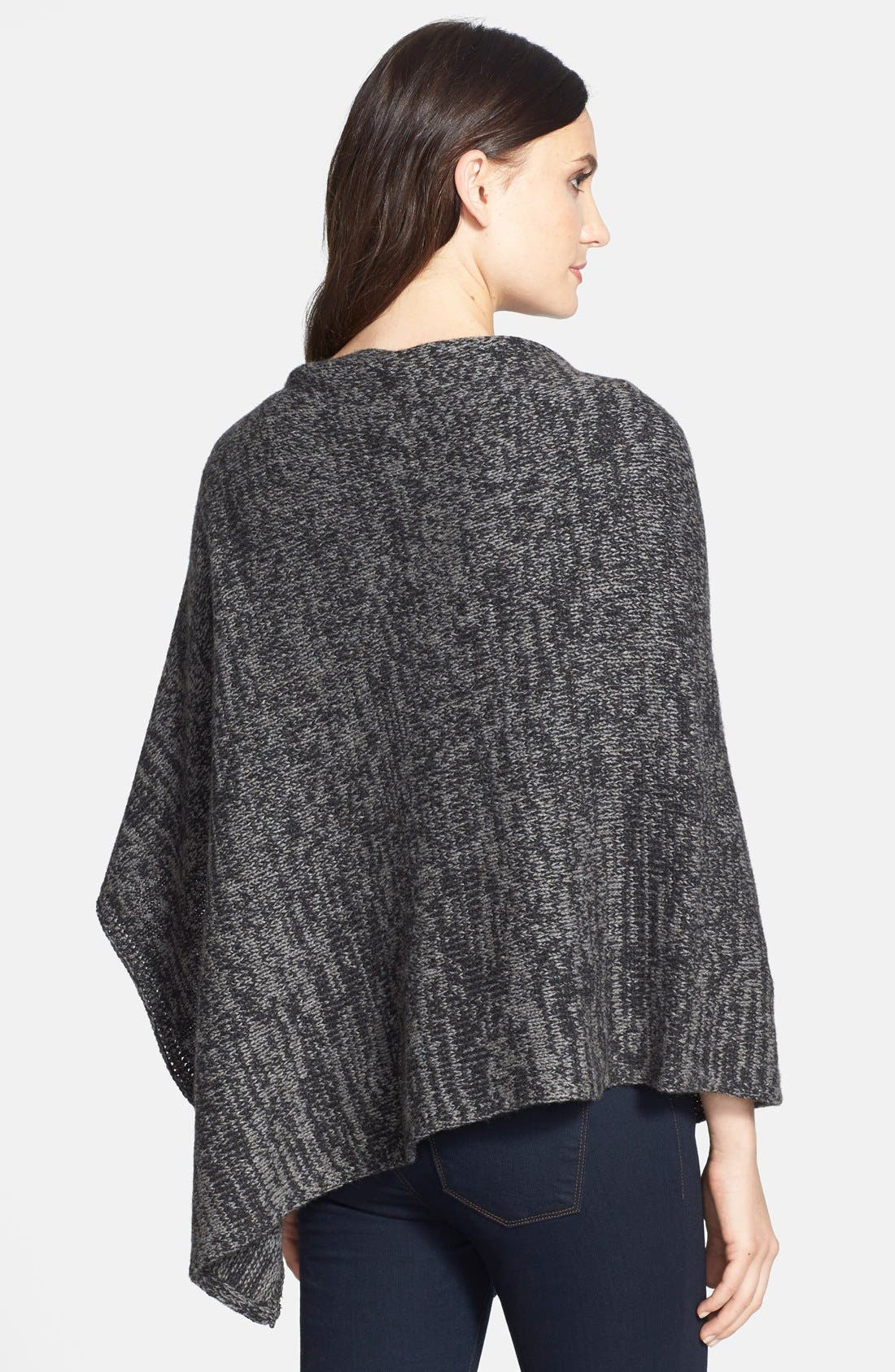 Alternate Image 2  - Eileen Fisher Asymmetrical Yak & Merino Twist Poncho (Online Only)